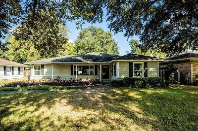 Houston Single Family Home For Sale: 1010 Shelterwood Drive
