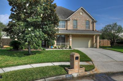 Houston Single Family Home For Sale: 15323 Southern Breeze Court