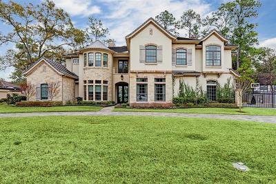 Harris County Single Family Home For Sale: 9 Inwood Oaks Drive