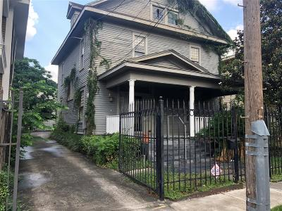 Houston Single Family Home For Sale: 3011 Caroline Street