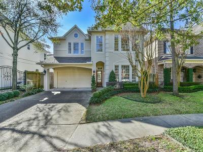 Houston Single Family Home For Sale: 3809 Villanova Street