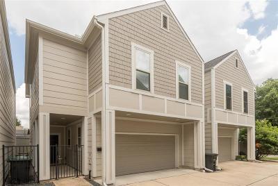 Houston Single Family Home For Sale: 1707 Crockett Street #B