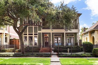 Houston Single Family Home For Sale: 1513 Harvard Street