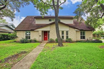 Meyerland Single Family Home For Sale: 9714 S Rice Avenue