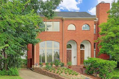 Harris County Condo/Townhouse For Sale: 6309 Westcott Street