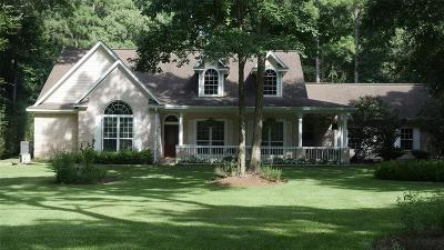 Magnolia Single Family Home For Sale: 1818 Ranch Trail Court