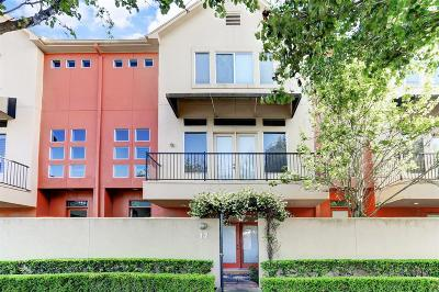 Houston Condo/Townhouse For Sale: 2437 South Boulevard #17