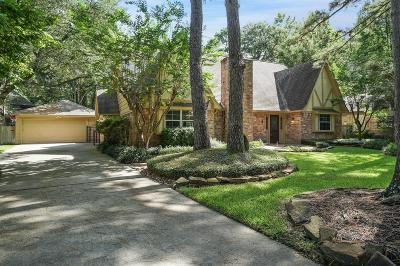 The Woodlands Single Family Home For Sale: 4 Ripple Rush Court