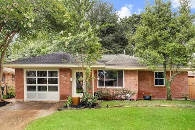 Houston Single Family Home For Sale: 846 Judiway Street
