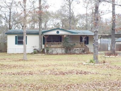 Conroe Single Family Home For Sale: 16411 Crockett Bend Drive