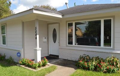 Houston Single Family Home For Sale: 5044 Jefferson Street