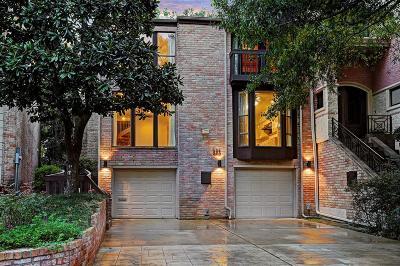 Houston TX Condo/Townhouse For Sale: $550,000