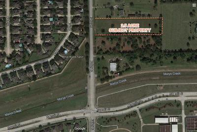 Pearland Residential Lots & Land For Sale: Harkey Road