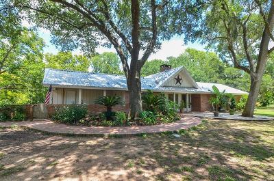 Fort Bend County Farm & Ranch For Sale: 38310 Buckskin Road