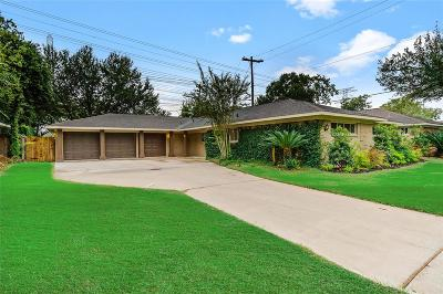 Houston Single Family Home For Sale: 9707 Greenwillow Street