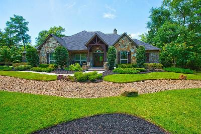 Montgomery Single Family Home For Sale: 23514 High Meadow Estates Drive