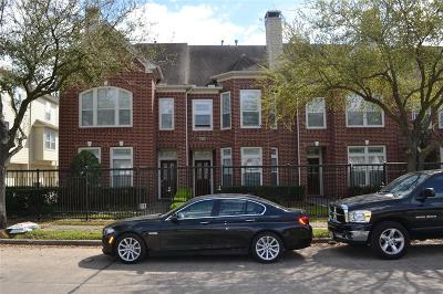 Houston TX Condo/Townhouse For Sale: $350,000