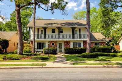 Houston Single Family Home For Sale: 406 Walnut Bend