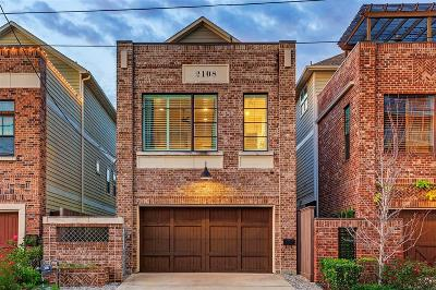 Houston Single Family Home For Sale: 2108 N Memorial Way