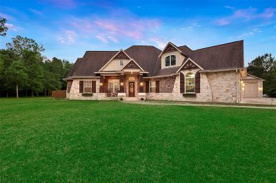 New Caney Single Family Home For Sale: 21966 Hardwood Trail