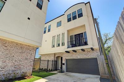 Houston Single Family Home For Sale: 808 W 22nd Street