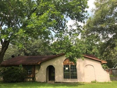 Porter Single Family Home For Sale: 20584 Youpon Lane