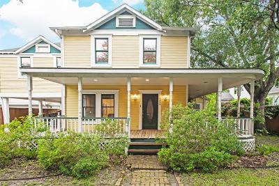 Houston Single Family Home For Sale: 1535 Rutland Street