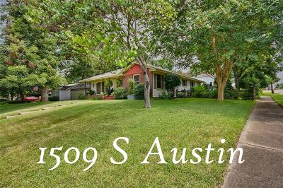 Washington County Single Family Home For Sale: 1509 S Austin Street
