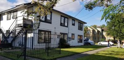 Houston Multi Family Home For Sale: 2720 Truxillo Street #6
