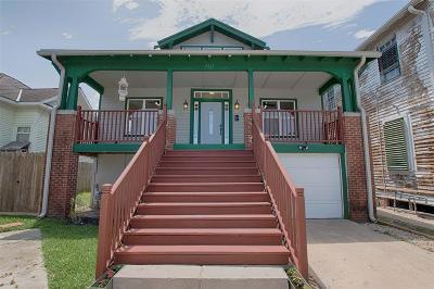 Galveston Single Family Home For Sale: 3217 Avenue M