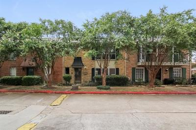 Houston Condo/Townhouse For Sale: 14666 Perthshire Road #B