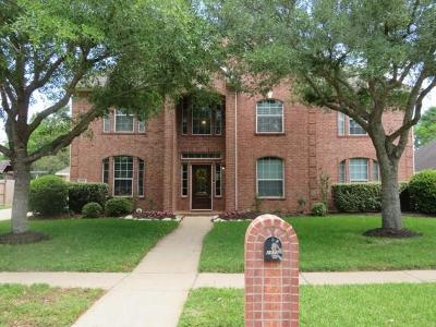 Friendswood Single Family Home For Sale: 2872 Wimbledon Lane