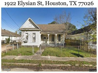 Houston Multi Family Home For Sale: 1922 Elysian Street