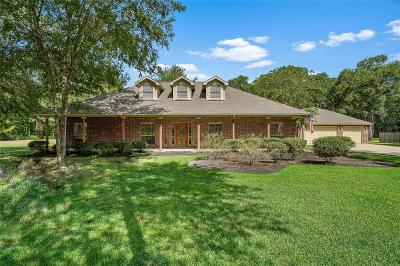 Huffman Single Family Home For Sale: 27411 E Fairway Oaks Drive