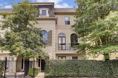 Houston Condo/Townhouse For Sale: 2623 Commonwealth Street