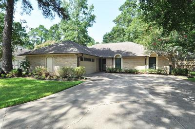 Kingwood TX Single Family Home For Sale: $221,000