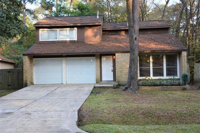 The Woodlands Single Family Home For Sale: 13 Hickorybark Drive