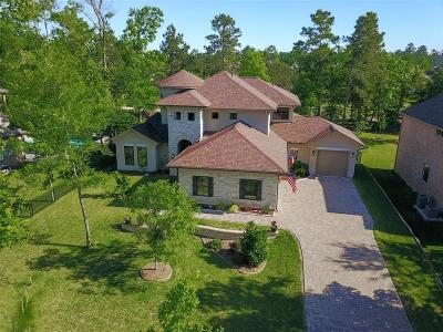 Conroe Single Family Home For Sale: 4806 W West Fork Blvd Boulevard