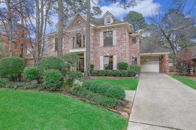 The Woodlands Single Family Home For Sale: 100 Tree Crest Circle