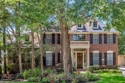 The Woodlands Single Family Home For Sale: 18 Windflower Place