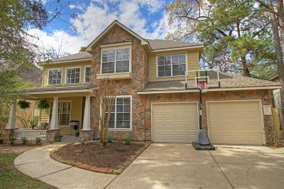 The Woodlands Single Family Home For Sale: 53 Lightwood Trace