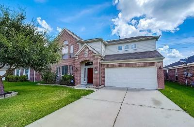 Rosenberg Single Family Home For Sale: 3135 Dogwood Knoll Trl