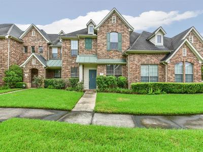 Houston Condo/Townhouse For Sale: 214 Whispering Ridge Terrace