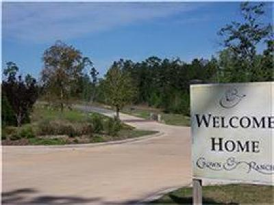 Montgomery Residential Lots & Land For Sale: 26222 Misty Manor