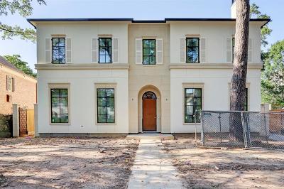 Houston Single Family Home For Sale: 2912 Ella Lee Lane