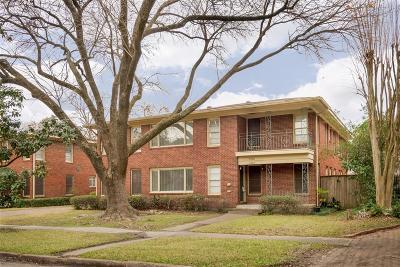 Houston Multi Family Home For Sale: 2326 Wordsworth Street