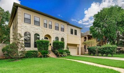Houston TX Single Family Home For Sale: $970,000