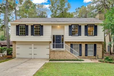 The Woodlands Single Family Home For Sale: 41 N Cypress Pine Drive