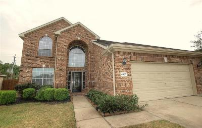 Pearland Rental For Rent: 4806 Lakefront Terrace Court