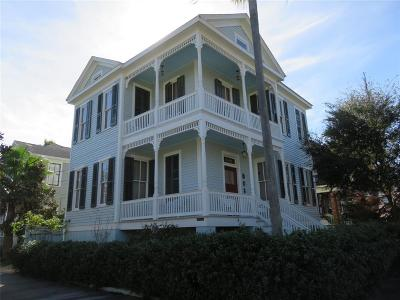 Galveston Single Family Home For Sale: 1601 Post Office Street
